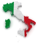 Italy Maps Town Centres and Surrounding Areas